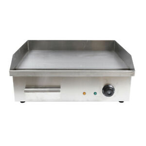 3000w Commercial Restaurant Grill Bbq Flat Top Electric Countertop Griddle Sale