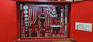 Snap On Master Interchangeable Puller Set W Cabinet And Key Model Cj1000f