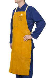 Weldas Welding Bib Apron Self Balancing Strap System High Quality Choose Size