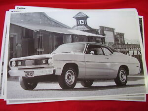 1972 Plymouth Duster 11 X 17 Photo Picture
