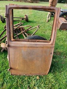 1928 1929 Model A Ford Pickup Door Drivers Side With Door Side Hinges