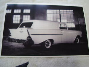 1957 Chevrolet Sedan Delivery 11 X 17 Photo Picture