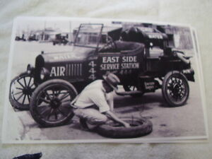 1924 Ford Model T Road Service Car 11 X 17 Photo Picture