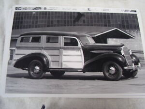 1935 Oldsmobile Woody Wagon 11 X 17 Photo Picture