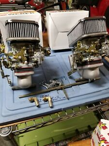 Dual 32 36 Dgv Weber Conversion For Tr6 This Is The Pierce Manifolds Kit
