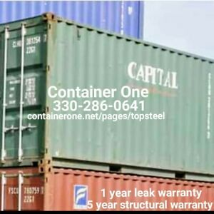20 And 40 Steel Conex Storage Shipping Containers In Minneapolis Mn