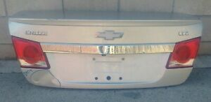 2011 2012 2014 2015 Chevy Cruze Trunk Lid Complete Oem Used 95213160