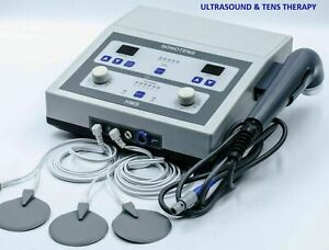 Advanced Solid State 1 Mhz Ultrasound Therapy And Dual Channel Tens Equipment Ds
