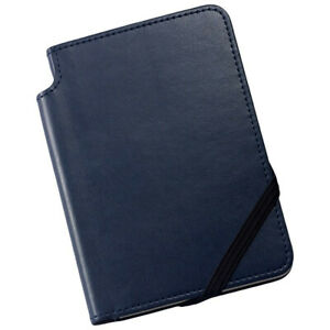 Cross Ruled Leather Journal Midnight Blue Small