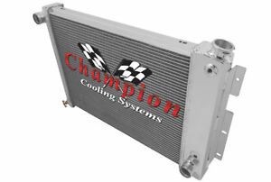 4 Row Ca Champion Radiator For 1967 1969 Pontiac Firebird Ta Camaro 23 Bb Core