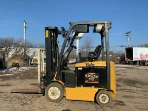 2013 Yale 5000 Pound Budget Forklift electric we Will Ship l k