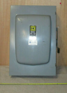 Square D Safety Switch Disconnect Du325 400a 240vac