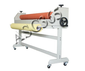 New 63 All Steel Manual Mounting Format Cold Laminator Laminating Machine Stand