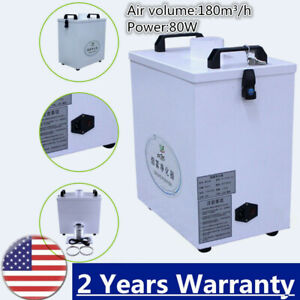 Pure Air Fume Extractor Smoke Purifier For Cnc Laser Cutting Machine 180 M h Us