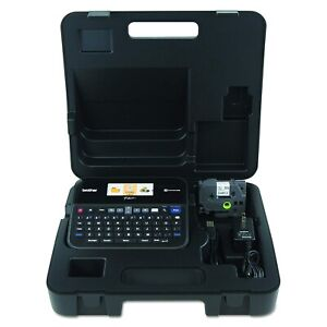 Brother P touch Ptd600vp Pc connectable Label Maker With Carry Case nib