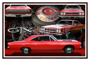 1968 Plymouth Gtx 440 Poster Print