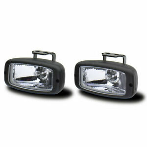 Westin Universal 5 25 X2 5 Rectangle H3 Halogen Driving Fog Light Set Of 2