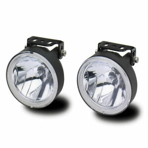 Westin Universal 4 Round H3 Halogen Driving Fog Light Set Of 2