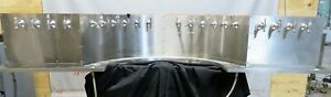 Faucet Draft Beer Dispenser Tower 20 Tap System Restaurant Stainless Custom