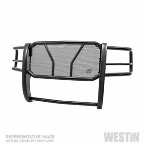 Westin Hdx Hd Grille Brush Guard Blk For Gmc 2500 3500 15 19 Cab chas sc ec cc