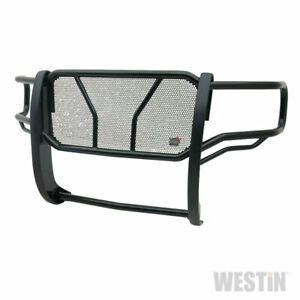 Westin Hdx Grille Brush Guard Black For Gmc Sierra 1500 16 19 Std ext crew Cab