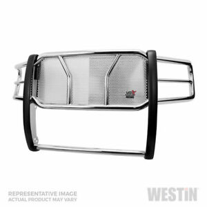 Westin Hdx Hd Grille Brush Guard Ss For Gmc Sierra 1500 07 13 Std ext crew Cab