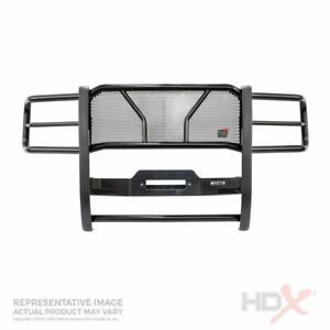 Westin Hdx Grille Brush Guard Black W winch Mnt For Chevy Suburban tahoe 15 19