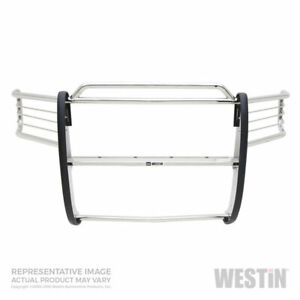 Westin Sportsman Grille brush Guard Ss For Chevy 1500 suburban tahoe 99 06 Sc ec