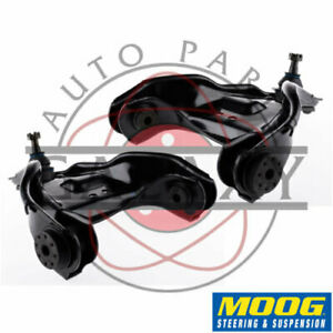 Moog New Rk Front Upper Control Arms Pair For S10 Jimmy S15 Blazer Sonoma