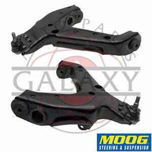 Moog Rk641493 Front Lower Control Arms Pair For Chevy Astro Gmc Safari 92 05 Awd