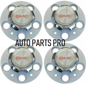 New Gmc C15 C1500 Truck Jimmy 5 Lug 15 15x8 15x7 Rally Wheel Hub Center Caps