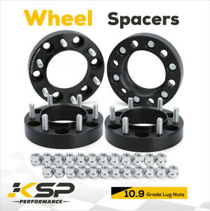 4x 1 25 Wheel Spacers 6x5 5 139 7mm 12x1 5 Hubcentric 106mm For Tacoma Tundra