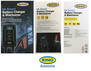 Ring Automotive 6a Smart Battery Charger Maintainer