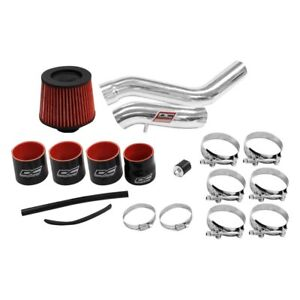 Dc Sports Cai4501 Aluminum Powder Coated Silver Cold Air Intake System