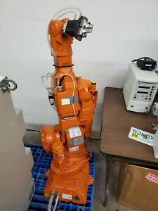 Abb Irb 140 With Controller Cables Robotic Tpu2 Working Automation M2000 Robot