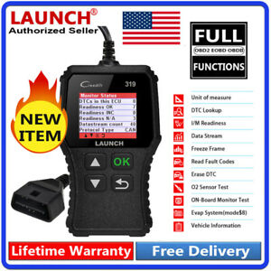 For Ford Vag Obd2 Obd Can Code Reader Diagnostic Service Tool Diy Launch Scanner