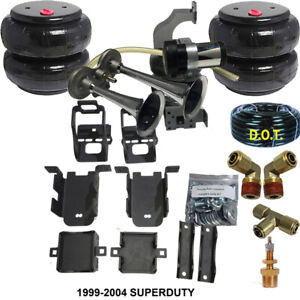 B Towing Leveling Kit Airbag Assist Ford F250 350 1999 04 Horn