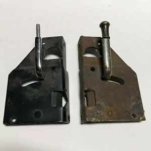 1928 1929 Ford Model A Roadster Door Latches Original And Repop Hot Rod
