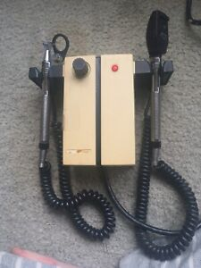 Welch Allyn Model 74710 Transformer With Otoscope Ophthalmoscope Heads