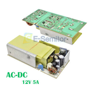 Ac dc 12v 5a Switch Power Supply Module Current Voltage Regulator Circuit Board
