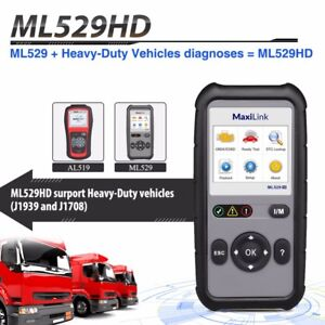 2020 New Autel Heavy Duty Truck Automotive Diagnostic Scan Tool Obd2 Code Reader