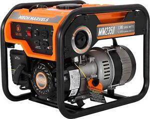 Mech Marvels 1 500 w Quiet Portable Gas Powered Generator Home Backup Rv Camping