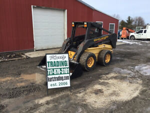 2003 New Holland Ls180 Skid Steer Loader W 2 Speed Only 1600 Hours
