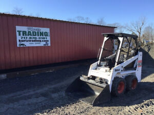 2005 Bobcat 463f Skid Steer Loader W Kubota Diesel Only 1600 Hours
