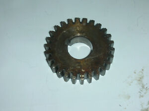 Atlas Craftsman 10 12 Inch Lathe Quick Change Gearbox 26 Tooth Gear 10 1520 Used