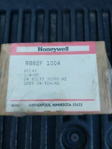 Honeywell R882f1004 Relay R882f 1004 2 Wire 24 Volts Spdt Switching