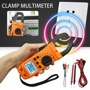 new 6000 Counts Digital Auto ranging Clamp Multimeter Tester Ac Dc Current Usa