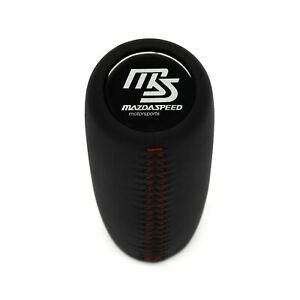 Mazdaspeed Weighted Shift Knob Red Stitch Miata 3 Mx6 Rx7 Rx8 Cx7 Mx3 5cr Cw 626