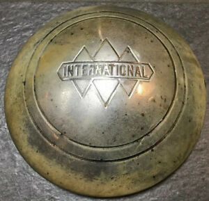 One Vintage International Pickup Truck Hubcap Center Cap Wheel Cover Antique