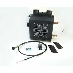 Compact Auxiliary Heater With Defrost 12 Volt Dual Outlet